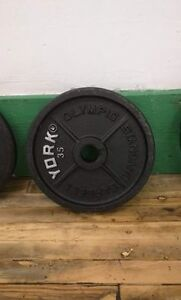 Olympic weights plates
