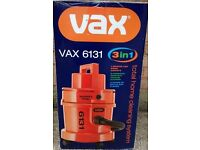 Brand New in Box: VAX 6131 Multifunction Canister Dry Vacuum and Carpet Washer