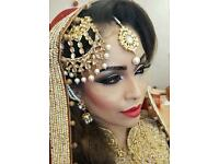 HUGE OFFERS!! Asian Pro/Qualified Hair and Makeup Artist - bridal/mehndi/ registry/prom/party
