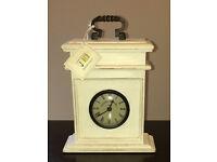 White Carriage Clock