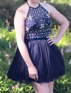 Grad  prom dress size 3/4 mint condition worn once