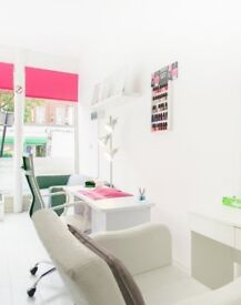 Beauty therapy room, Nail table, and Hairdressing chair is available for rent immediately