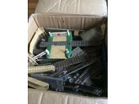 Hornby train track & extras £20