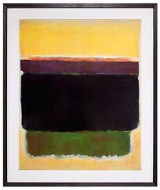 "Marko Rothko Painting ""Untitled 1949"" - Framed Graphic Art"