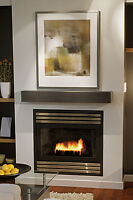 fireplaces, installs, conversions - gas line hookups Durham