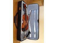 Stentor Conservatoire 3/4 Violin, Bow, KUN Shoulder Rest & Case