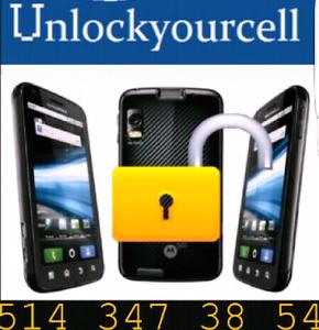 Déblocage Iphone 4/4s/5/5c/5s/6/6+/6s/6s+/7/7+Rogers Fido 50$