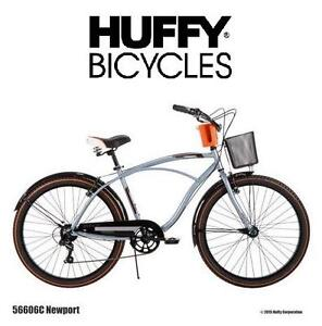 """NEW* HUFFY NEWPORT CRUISER BICYCLE MEN'S 26"""" CRUISER BICYCLE BIKE 104632009"""