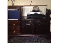 Vintage Tv unit
