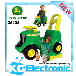 John Deere 35206 3 in 1 Activity Tractor with Sounds kids Toy Riding Ride-on