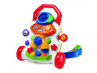 Baby Walker - chicco Baby Steps Activity Walker - bright colours- includes balls and shapes