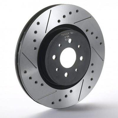 Front Sport Japan Tarox Brake Discs fit SEAT Ibiza Mk4 1.2 TDI (256mm) 1.2 09>