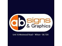 Shop Signs & Graphics for Restaurants, Salons, Shops, Takeaways - Competitive Prices