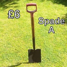 Garden Tools - Spade (A)