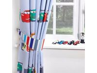 New Disney Cars Blackout Pencil Pleat Curtains