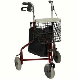 Reduced for quick sale 3 wheel rollator