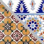 Authentieke Marokkaanse tegels, evt. vakkundig gezet/gelegd!