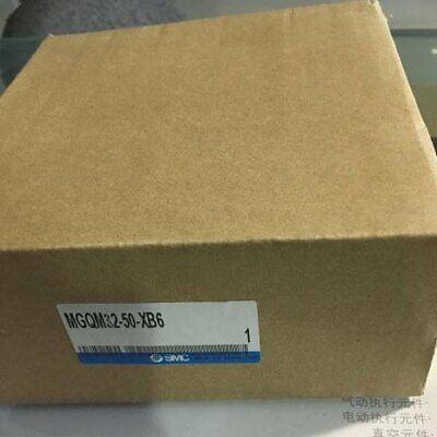 1pc New Smc Mgqm32-50-xb6 Slide Cylinder In Box Spot Stock Yp1