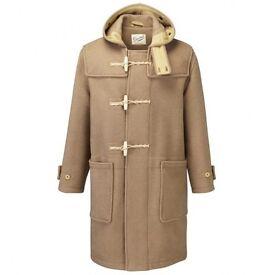 Brand new beige gloverall duffle coat XL