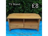 TV Stand - Measurements on Photo
