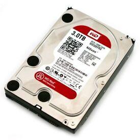 Western Digital Hard Drives (1x 3TB, 1x 2TB)