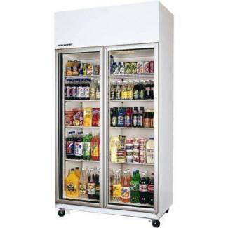 SKOPE 2 Door (glass) fridge - TME 1000-H