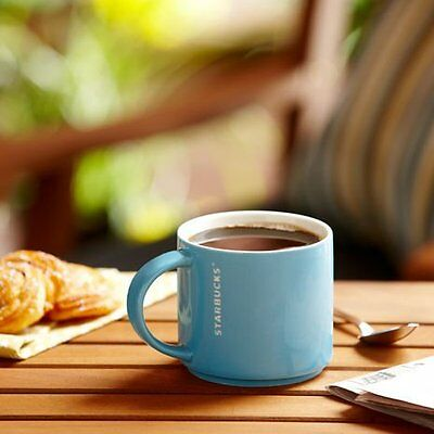 (Starbucks Light Blue Stacking Mug 14 fl oz (11025456))