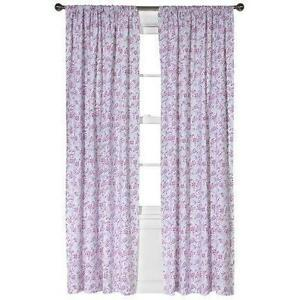 Simply Shabby Chic Pink Curtain
