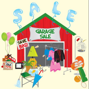 HUGE Garage Sale - 2 DAYS !!! (DAY 2)