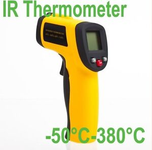 New Non-Contact LCD Display IR Infrared Thermometer Gun