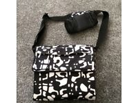 Baby changing mat bag with bottle holder NEW
