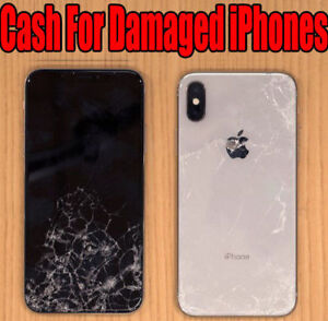Cash for cracked  iPhone screen or damaged
