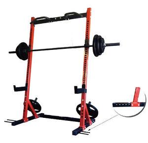 Vo3 Elite Series Half Rack/Ironmaster Super Bench/Olympic We Set