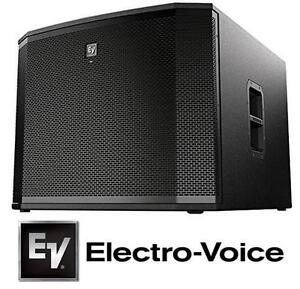 """NEW ELECTROVOICE POWERED SUBWOOFER 18"""" - DJ SPEAKER STAGE MUSIC EQUIPMENT 104616928"""