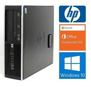 Hp 6000 SFF: Core2 Duo E8500: 3.16GHZ, 8GB RAM,HD 500GB: 135$