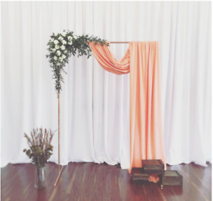Wedding Decor⎜Arch-Stands⎜Ashboo Copper Arch