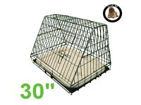 EllieBo Sloping dog crate