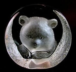 Mats Jonasson Glass Bear Sculpture - Paper Weight Gatineau Ottawa / Gatineau Area image 1