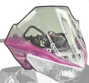 Arctic Cat Mid Clear Windshield – Pink 5639-800