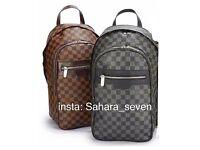 Mens Backpack Shoulder Bag Louis Vuitton Rucksack Side Handbag Lv Messenger Good Quality
