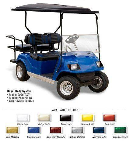 EZGO Golf Cart Kit | eBay Wood Golf Cart Trunk on golf carts for disabled, golf carts for fire depts, golf carts vehicle,