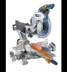 *NEW IN BOX* Mastercraft Sliding Mitre Saw with Laser, 12-in