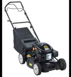 Yardworks 173cc Self-Propelled Gas Lawn Mower, 19-in