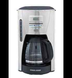 Black & Decker Kitchen Tools 12 cup Programmable Coffee Maker,