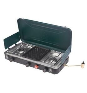 Woods Trilogy Propane Stove and Grill