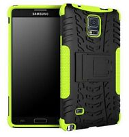 Case For Samsung Galaxy Note 4+Soft Rubber Stand Holder Cover