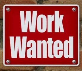 Work wanted, Driving/Bar work/Restaurant