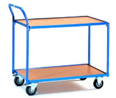 Fetra Tischwagen 300 kg Tragkraft 2 Etagen  2740  NEU
