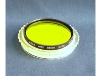 Hoya 55mm HMC Green (XO) filter excellent condition
