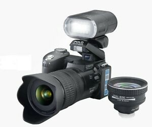 HD Camcorder Digital VIDEO CAMERA long-focus wide angle / 21xTelephoto Lens 16MP